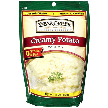(3 Pack) Bear Creek Country Kitchens Creamy Potato Soup Mix, 11.0 OZ Potatoes Mushroom Soup