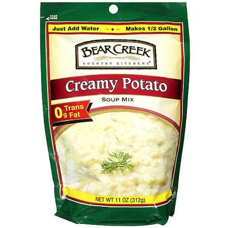 (3 Pack) Bear Creek Country Kitchens Creamy Potato Soup Mix, 11.0