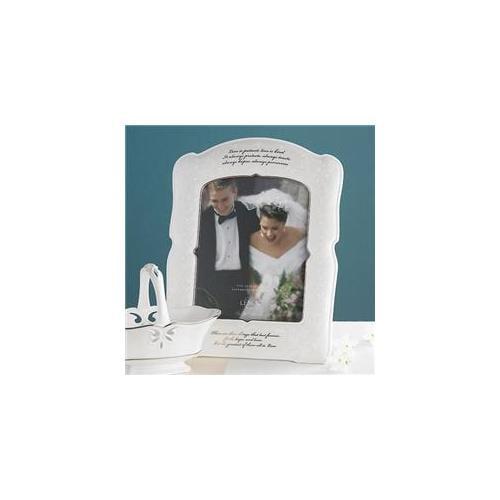Lenox Opal Innocence Love Is Patient Frame 8X10