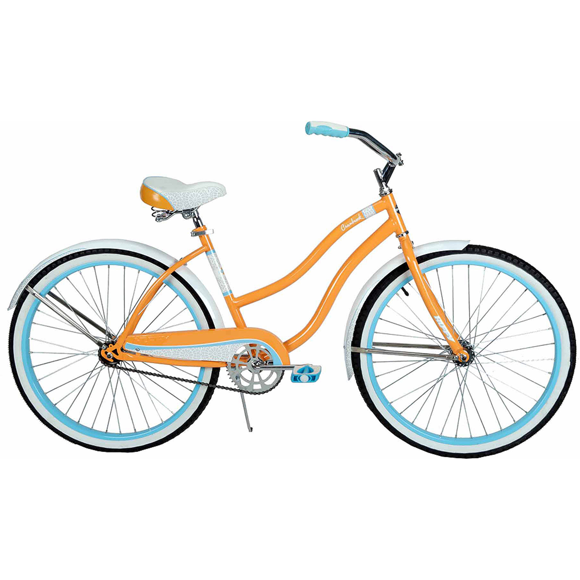 "26"" Huffy Cranbrook Women's Cruiser Bike, Orange Sherbet"