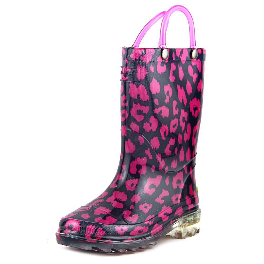 Western Chief Light-Up Rain boot   Round Toe Synthetic  Rain Boot