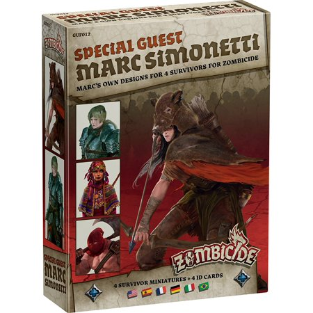Zombicide: Black Plague Special Guest Marc Simonetti Board Game By