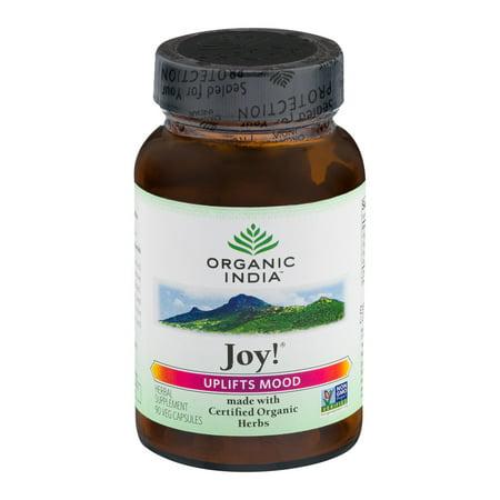 Organic India Joie! Supplément à base de plantes Capsules - 90 CT