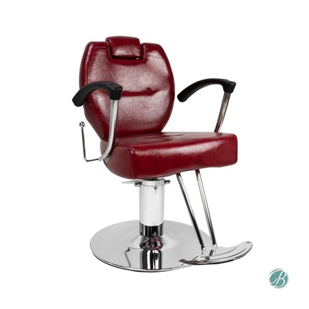 herman all purpose styling chair crimson perfect for beauty salon