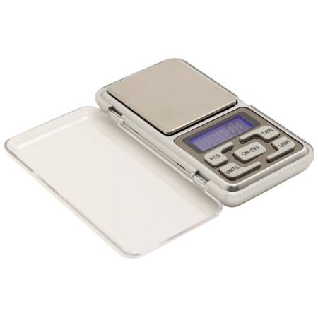 measure master 500g digital pocket scale - 500g capacity x 0.1g accuracy