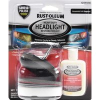Rust-Oleum Headlight Restoration Kit 1-Pack, 12199-040