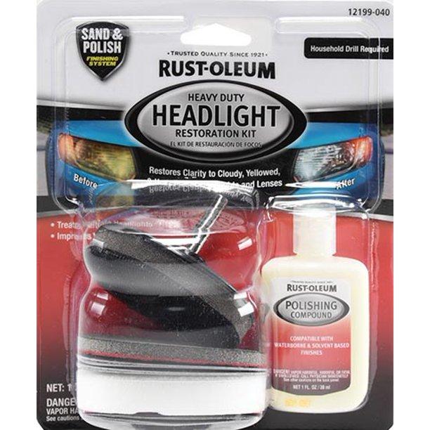 Rust-Oleum Headlight Restoration Kit