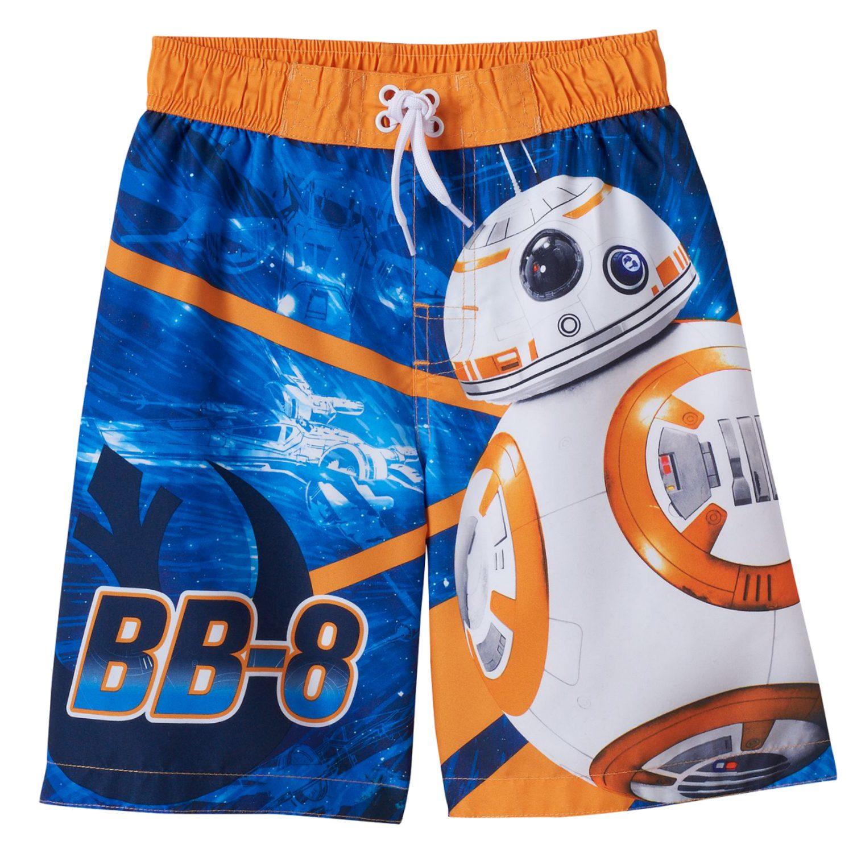 Star Wars Swim ShortsBoys Star Wars BB8 Swimming TrunksBB8 Swimshorts