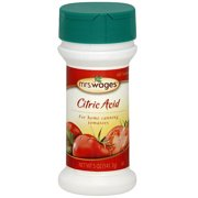 Mrs. Wages Citric Acid, 5 oz (Pack of 12)