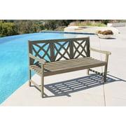 Renaissance Eco-friendly Outdoor Classic Garden Bench
