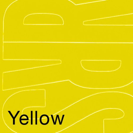 Yellow Letter (Permanent Adhesive Vinyl Letters, 6