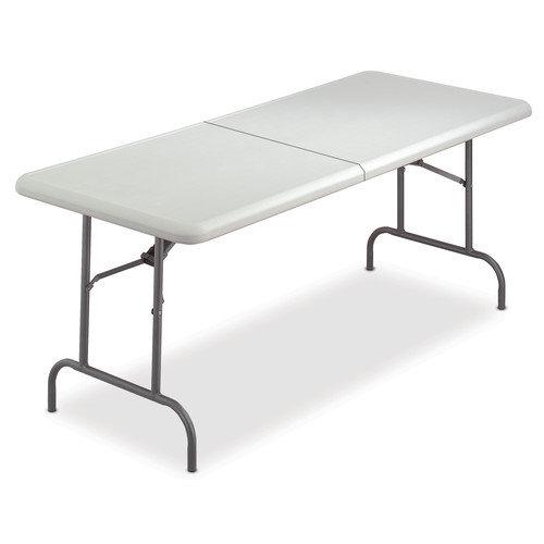 ICEBERG ENTERPRISES                                Iceberg Indestruc-Tables Too  1200 Series Bi 60'' Rectangular Folding Table