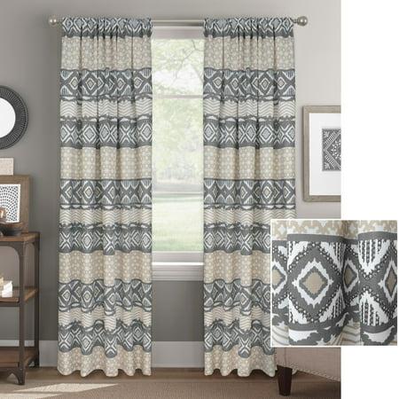 Better Homes and Gardens Desert Mosaic Window Curtain Panel