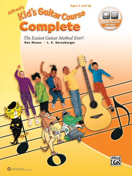 Alfred's Kid's Guitar Course Complete by