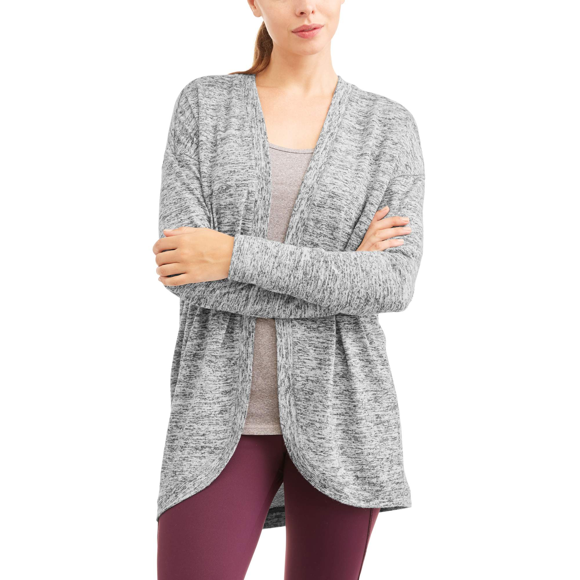 Danskin Now Women's Athleisure Layering Cardigan