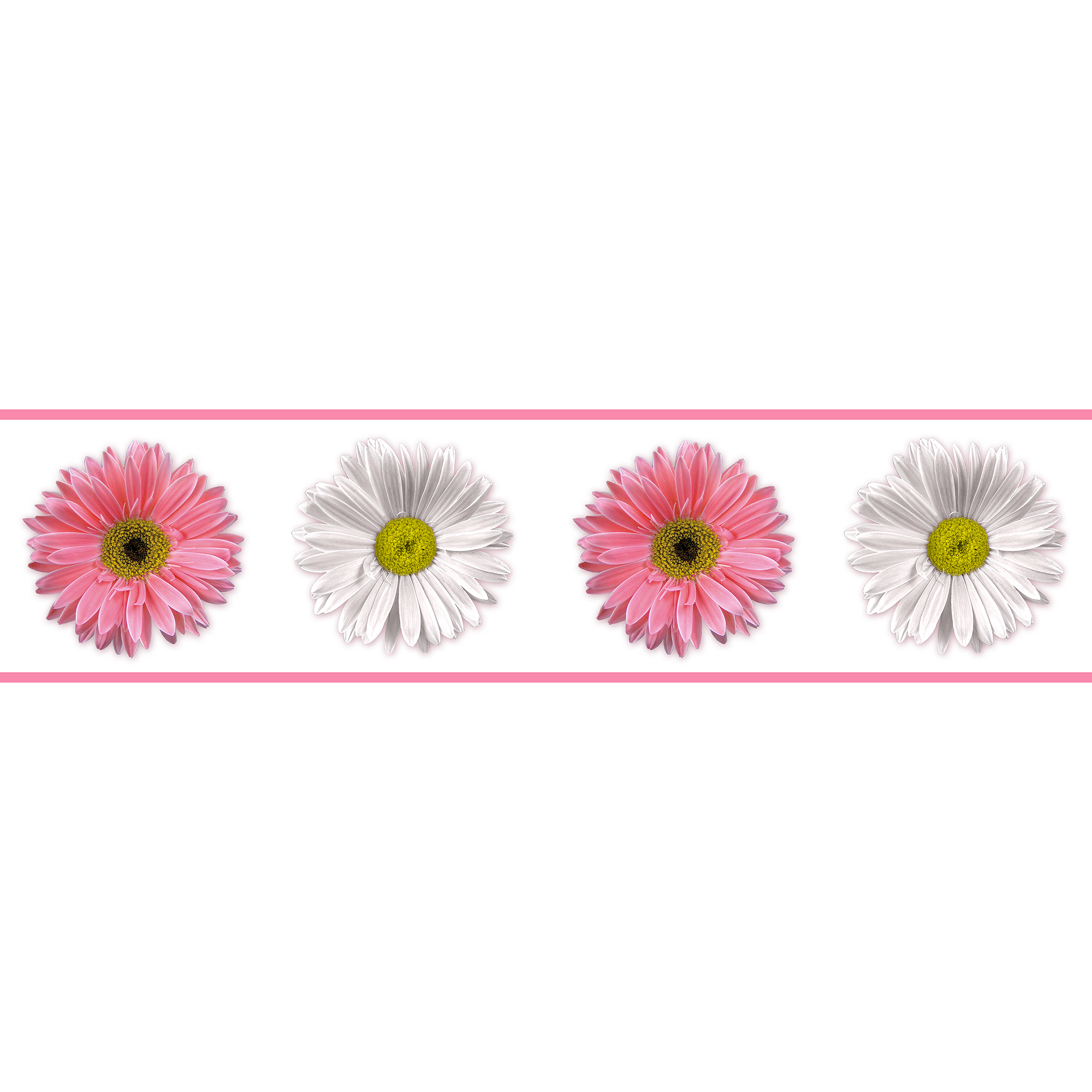 RoomMates Flower Power Peel and Stick Border