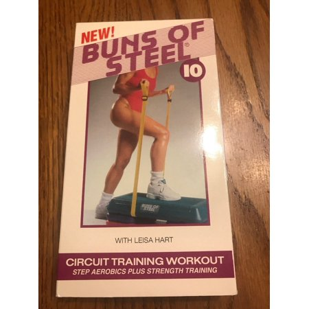 Steel Vhs - Buns of Steel 10 - Circuit Training Workout (VHS, 1994) Ships N 24h