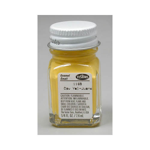 1169 Flat Yellow 1/4 oz Multi-Colored
