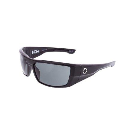 Spy Sunglasses 672052038863 Dirk HD Plus Lenses Scratch Resistant Wrap Athletic, (Spy Dirk Lenses)