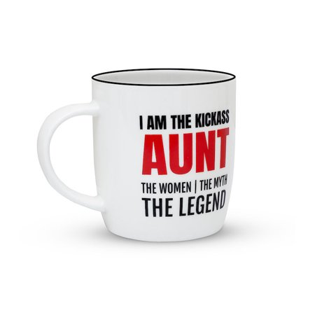 6114d9056d Gifffted Best Aunt Ever Coffee Mug, The Women The Myth The Legend Kickass  Aunt, Gift For Aunt Birthday, Unique Anniversary Gifts, Ceramic, ...