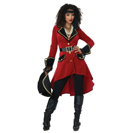 Womens High Seas Heroine Sexy Pirate Costume](Women Pirate)