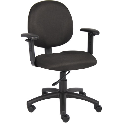 Boss Office Products Diamond Task Chair with Adjustable Arms