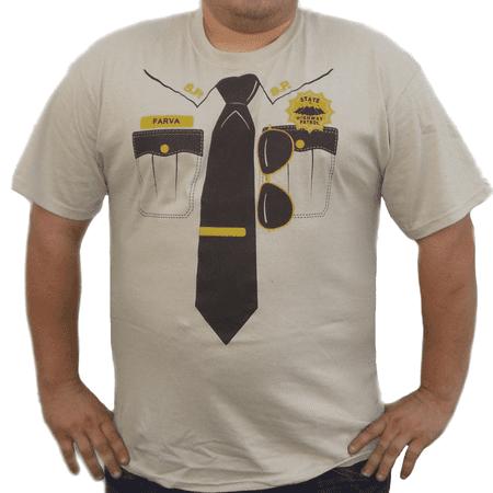 Rod Farva Supertroopers T-Shirt Super Troopers Costume Movie 2 Highway Patrol
