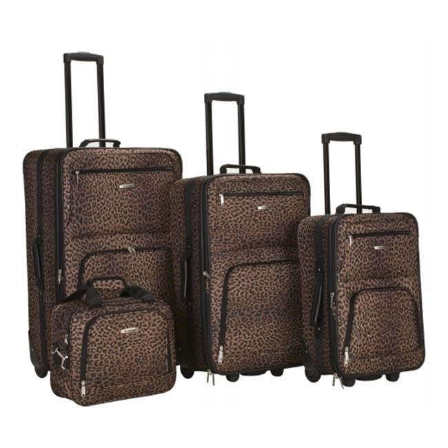 Rockland Luggage Varsity 4-Piece Expandable Luggage Set by Rockland