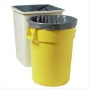 Rubbermaid Commercial 640-5011-88-GRAY Gray 55 Gallon Polylinerbag by Rubbermaid Commercial