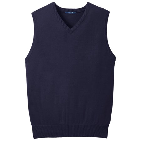 Mafoose Men's Value V-Neck Sweater Vest Navy S