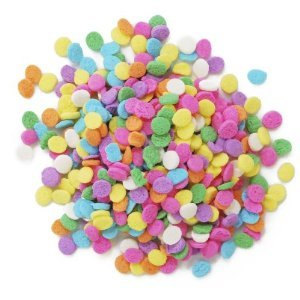 Pastel Sequins 6 oz. Sprinkles Edible Cookie Cake Cupcake Decorating Confetti