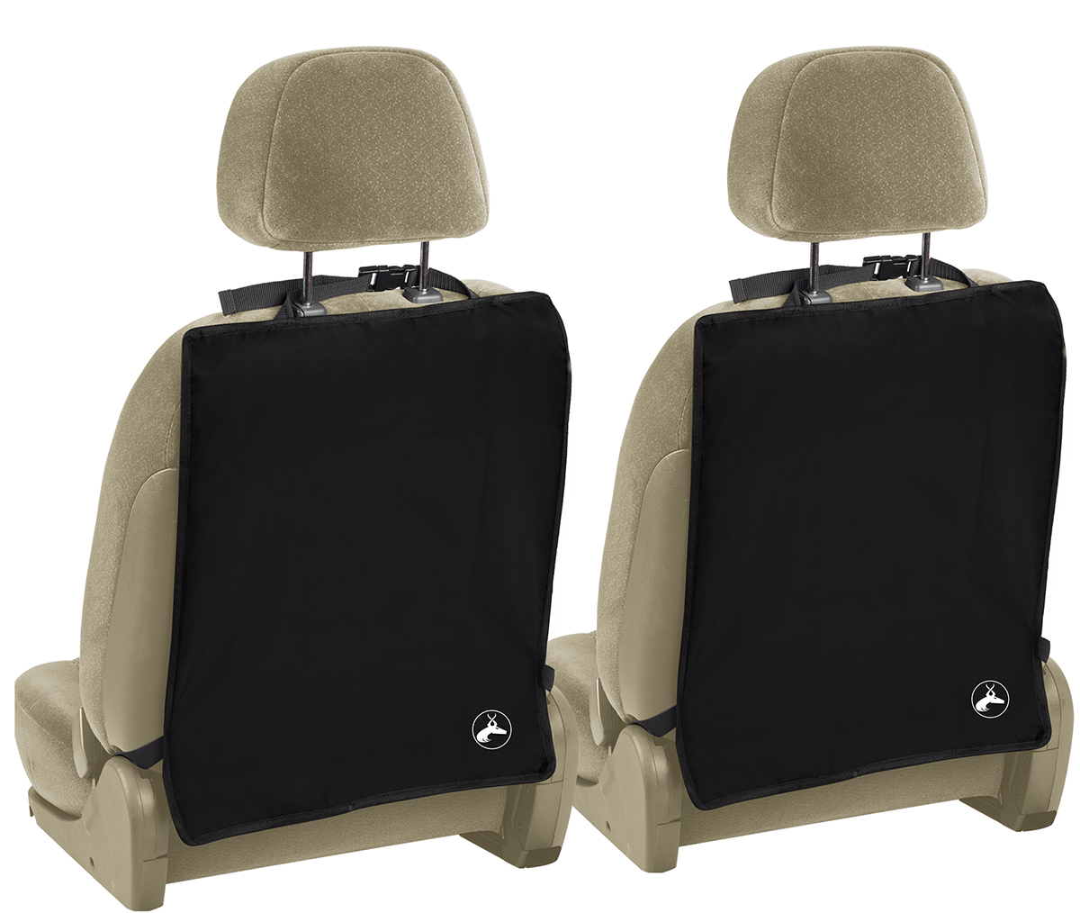 oxgord child car seat back protector kick mat 2 pack walmart com