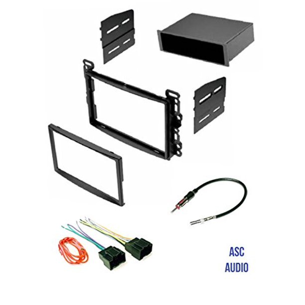 Asc Audio Car Stereo Dash Kit Wire Harness And Antenna Adapter For Some Chevrolet 07 10 Cobalt 06 11 Hhr 08 12 Malibu Pontiac 07 10 G5 06 09 Solstice Saturn 07 09 Aura 07 09 Sky Walmart Com Walmart Com