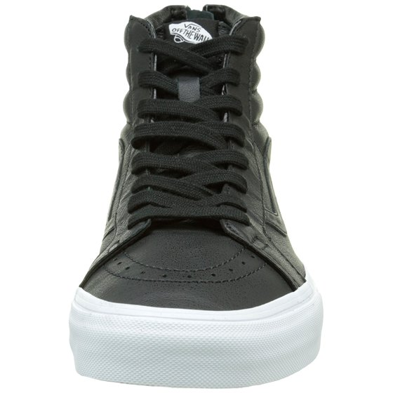 613a8a08ff ... shoes support your feet through it all. Try a pair of Vans Sk8-Hi  Reissue Zip Premium Leather today and feel the comfort everybody s talking  about.