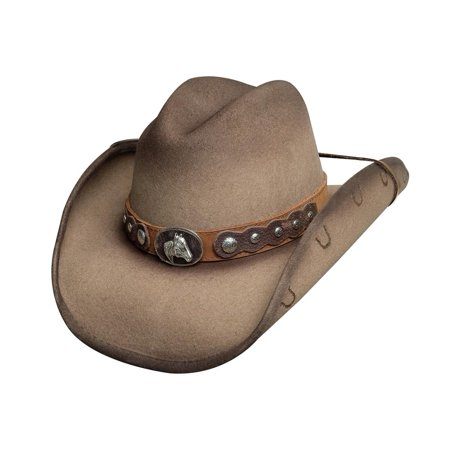 Bullhide Hats 0709S Horse Country Collection Sunfisher Sand Cowboy Hat