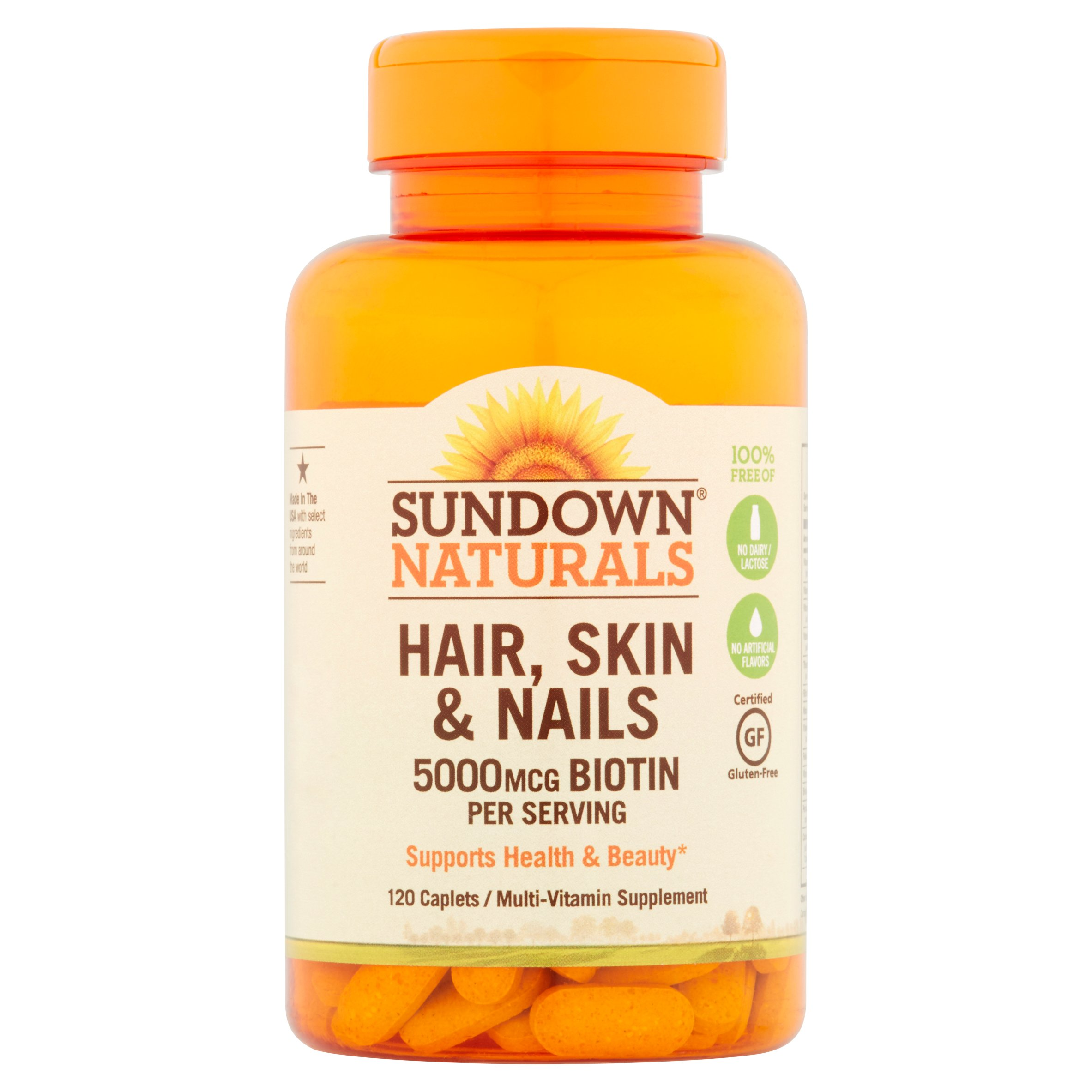 Nature\'s Bounty Optimal Solutions Hair, Skin & Nails Extra Strength ...