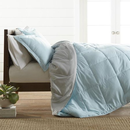 Croscill Queen Size Comforter - Noble Linens Premium Down Alternative Reversible Comforter