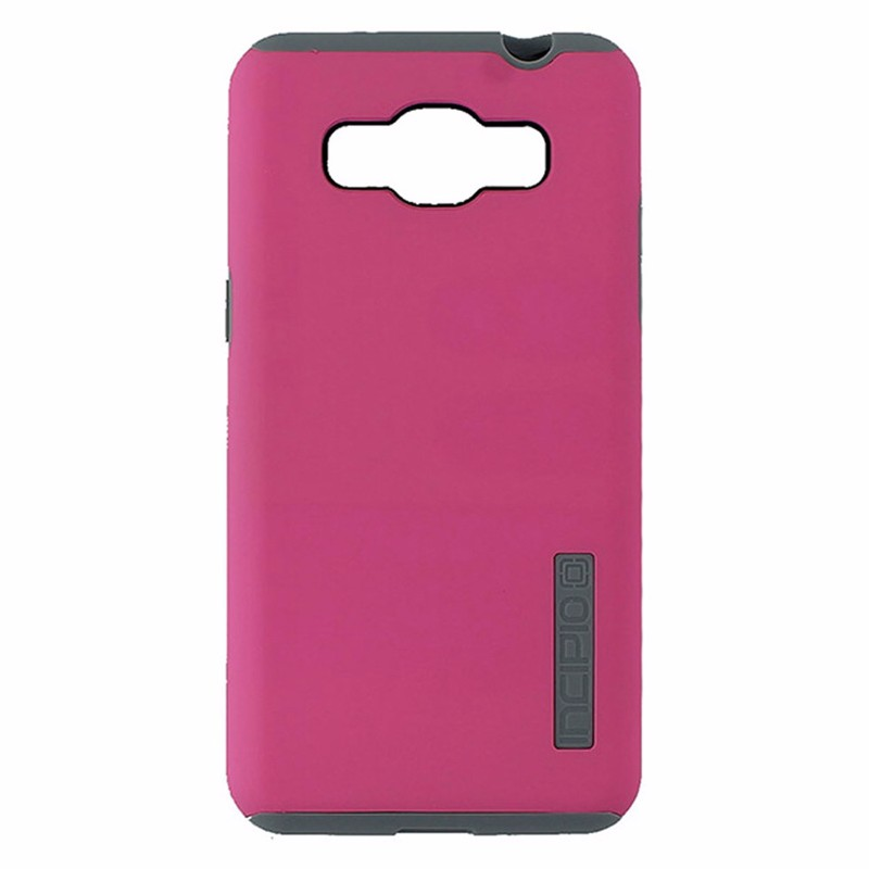 Incipio DualPro Dual Layer Case for Samsung Galaxy Grand Prime - Pink and Gray (Refurbished)