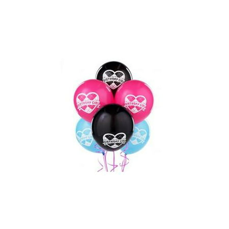 Monster High Latex Balloons (6)