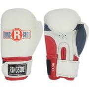 Ringside Youth Pro Style Training Gloves, White