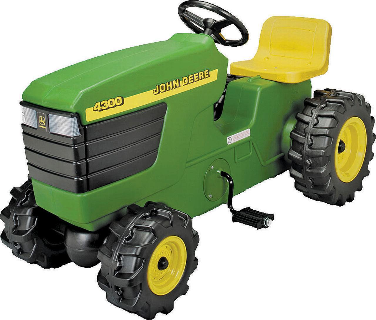 john deere plastic pedal tractor - walmart