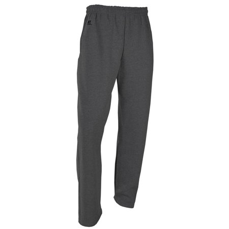 - Men's Russell 596HBM0 Dri Power Open Leg Fleece Pants