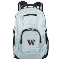 NCAA Washington Huskies Gray Premium Laptop Backpack