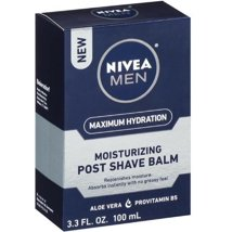 After Shave: Nivea Men Moisturizing Post Shave Balm