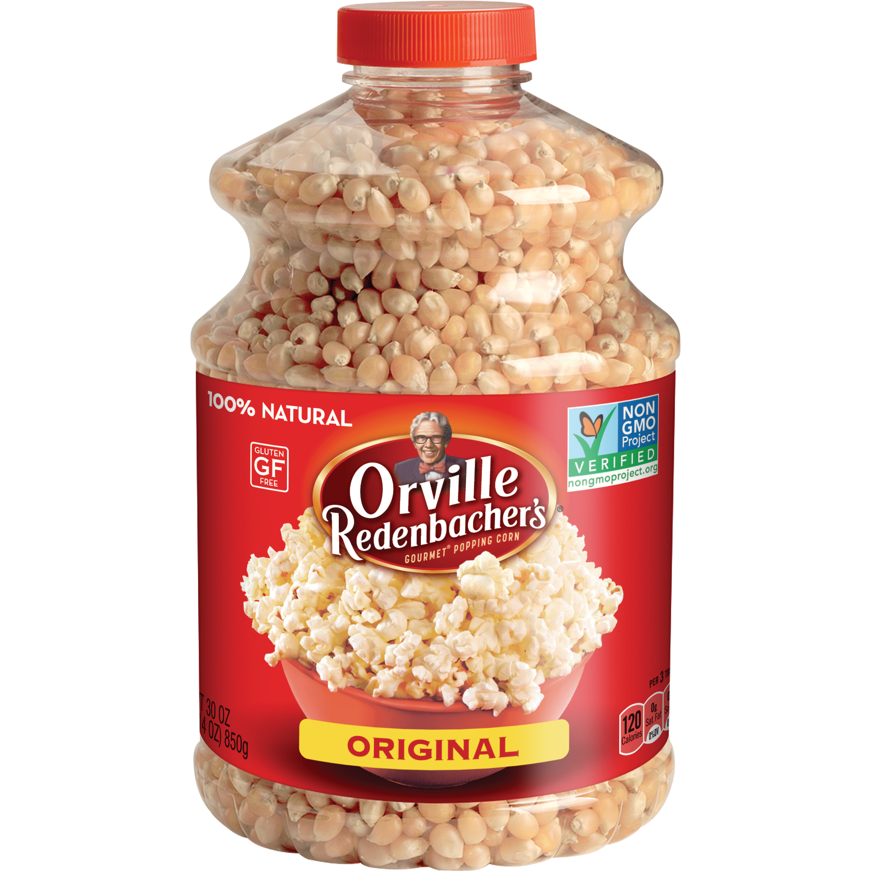 Orville Redenbacher's Original Gourmet Popcorn Kernels, 45 Oz Jar