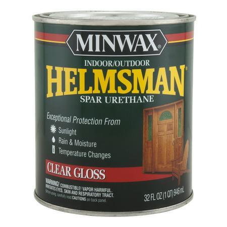 Minwax Helmsman Clear Gloss  1-Qt. (Helmsman Flush)