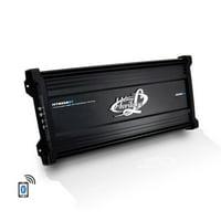 LANZAR HTG558BT - 3000 Watt 5-Channel Mosfet Amplifier with Wireless Bluetooth Audio Interface