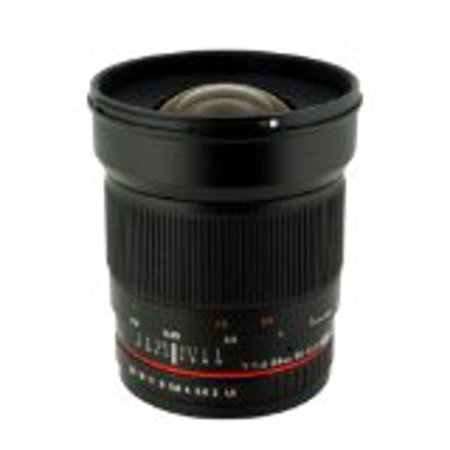 ROKINON 24mm F1.4 ED UMC Wide-Angle Lens for Nikon AE with Automatic Chip