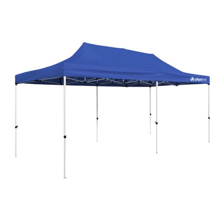 The Party Tent 10' x 20' Canopy, Solid Blue