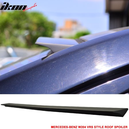Fits 08-14 BENZ W204 4D VRS Style Roof Spoiler Wing Unpainted - PUF